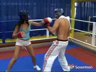 Porno dentro o pugilismo ring
