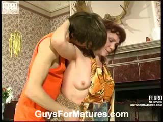 Lillian ja marcus irresistible vananenud daam sees tegevus
