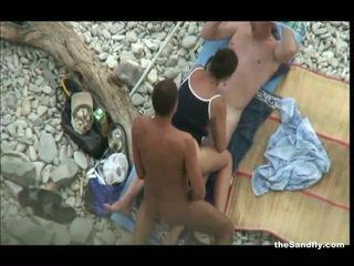Thesandfly più caldo pubblico spiaggia azione!