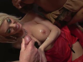 Seductress in Glasses Lets Lose in a Wild Sex Orgy: Porn d6
