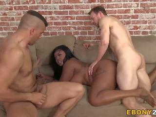 big boobs, black and ebony, interracial