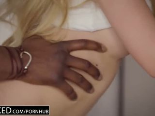 Blacked primero interracial para bonita lyra louvel