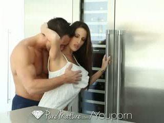 Puremature - ホット ブルネット kortney kane ある craving いくつかの コック