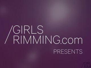 Rimming مرافقة - lita phoenix حافة ظيفة - الفتيات rimming