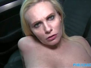 PublicAgent Desperate MILF Fucks for a Job