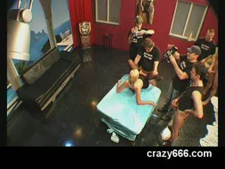 Weird Pissing orgy with German girl