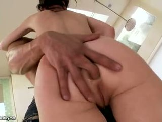 γεμάτος στοματικό σεξ πραγματικός, deepthroat έλεγχος, κολπική sex