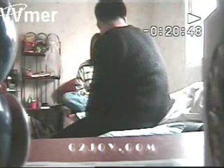 Korean couple on hidden camera