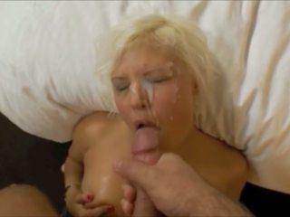 Beautiful Blonde Facial 98, Free POV HD Porn af