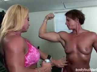 Bodybuilders v heat: kulturistika porno s horký bush