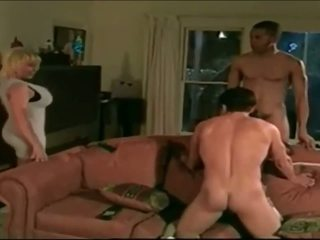Jake and Lovette in a foursome scene