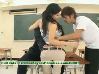 Sora aoi innocent 性感 日本语 学生 是 getting 性交