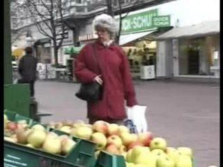 Tysk eldre besta knulling er grandson