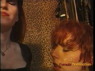 Luscious Redhead Tart Enjoys Being Spanked Hard in the