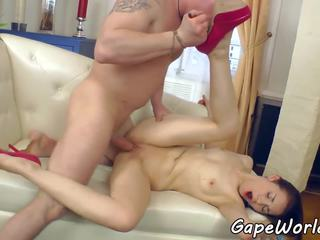 Gaping eurobabe assfucked и fingered, порно 84