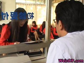 Asiatico ragazze getting un amoral sesso