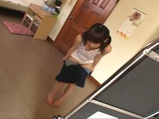 morena, jovem, japonês