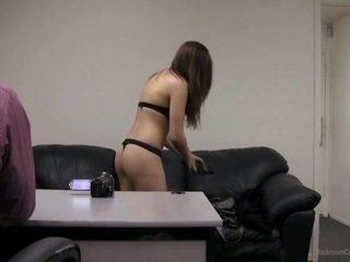 barna, csinos, tini szex