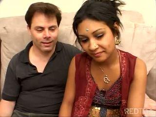 害羞 小 印度人 女孩 性交 很好