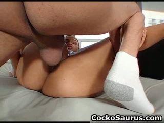 Ebony Slut Gets Her Pussy Fucked Hard