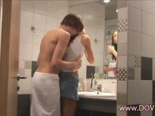 Гаряча секс в the ванна кімната