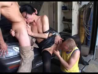 dvojno penetracijo, dozorevanja, threesomes