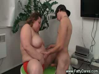 porno, didelis, storas