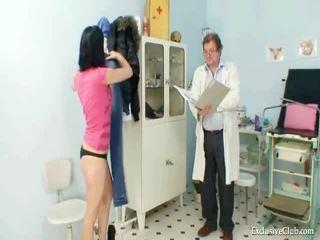 Pavlina gyno muff wziernik investigation na fotel ginekologiczny w kuszące clinic