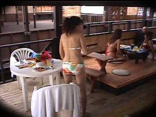 giapponese, massaggio, club