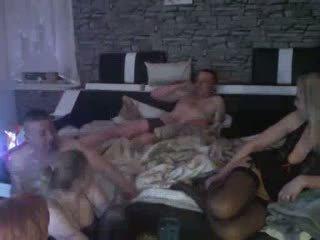 Mėgėjiškas swingers: nemokamai grupė seksas porno video f9
