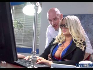 Sikiş with thick blondinka kätib, mugt porno 41