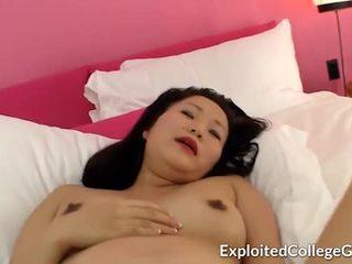 Pregnant Asian Teen Creampie