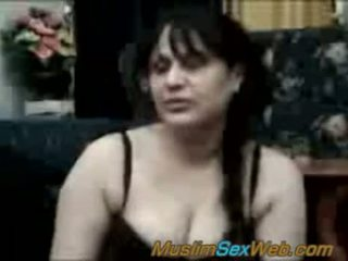 Arab syrian signora scopata