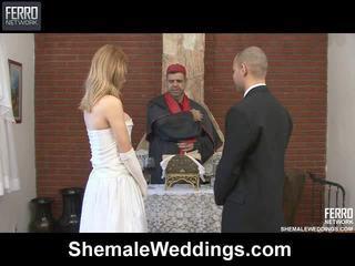Sajaukt no carla, tony, alessandra līdz shemale weddings