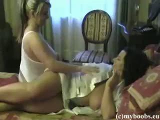 buah dada besar, lesbian, amatur