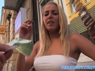 PublicAgent Hot Hungarian blonde gets fucked in a restaurant toilet - Porn Video 301