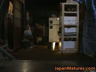 giapponese, sesso di gruppo, grandi tette