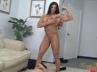 عضلة, إذلال, أنثى