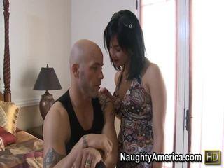 tits, brunette, hard fuck