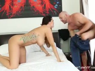 Alison tyler does a self shot solo