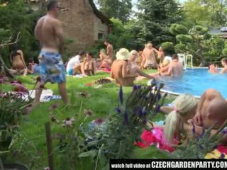 捷克语 开放 空气 性别 党 - 色情 视频 931