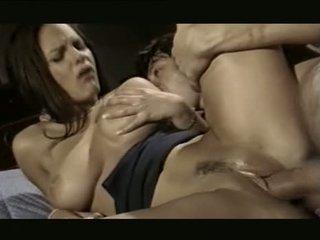 μελαχροινή, στοματικό σεξ, παρτούζα