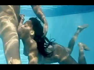 Adina Jewel AKA Pebbles - Under Water Blowjob