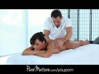 big tits, office, massage