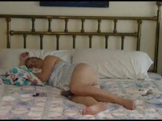성숙한 두 bedtime 빌어 먹을 비디오