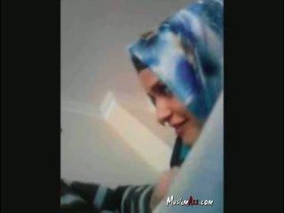 Hijab turkiska turban sugande kuk