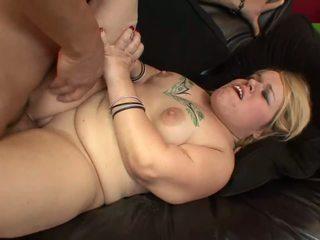 Sexy midget Stella Marie sits on a fat dick