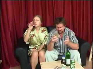 minum, anak perempuan, mengongkek