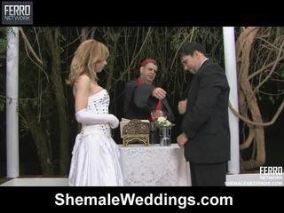 Mezclar de alessandra, ángel, senna por transgénero weddings