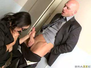 Katsumi सकिंग कठिन the डिक की उसकी ऑफीस mate
